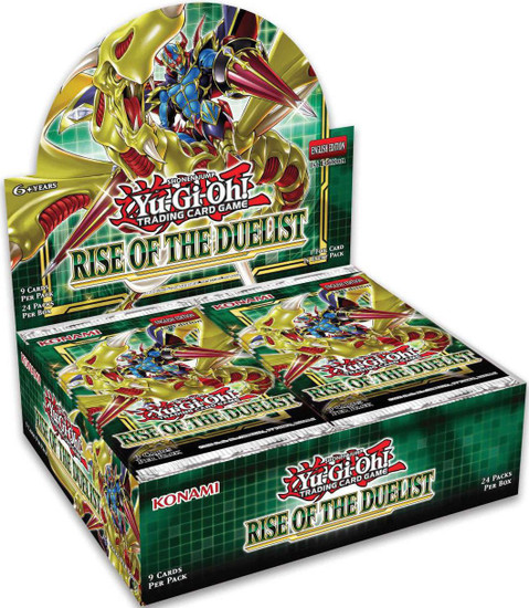 YuGiOh Trading Card Game Rise of the Duelist Booster Box [24 Packs]