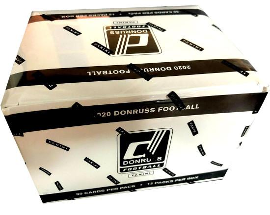 NFL Panini 2020 Donruss Football Trading Card VALUE Box [12 Packs]