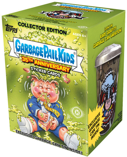 Garbage Pail Kids Topps 2020 Series 2 GPK 35th Anniversary Trading Card COLLECTOR Edition HOBBY Box [24 packs]