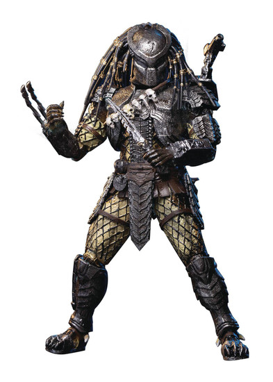 Alien vs. Predator Scar Predator Exclusive Action Figure [Masked] (Pre-Order ships March)