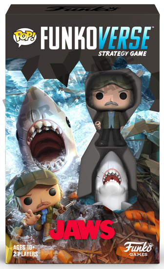 POP! Funkoverse Jaws 100 Strategy Board Game Expandalone