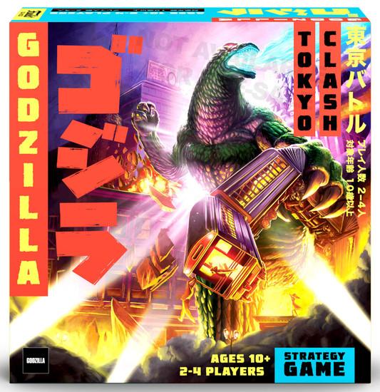 Funko Godzilla Signature Games Tokyo Clash Strategy Game