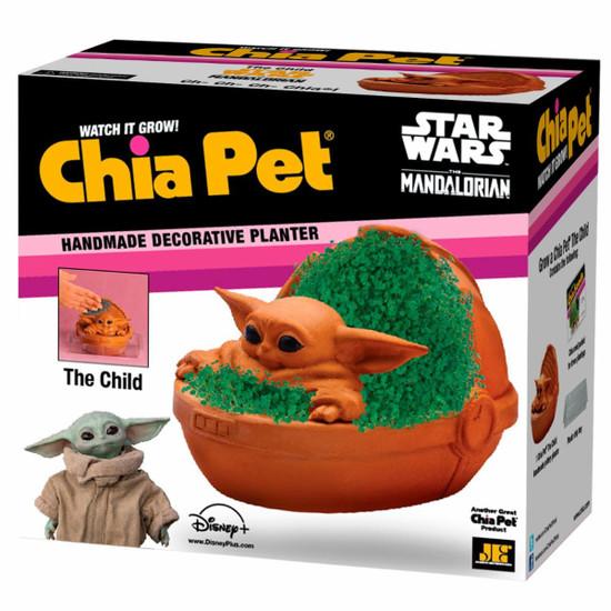 NECA Star Wars The Mandalorian The Child Chia Pet