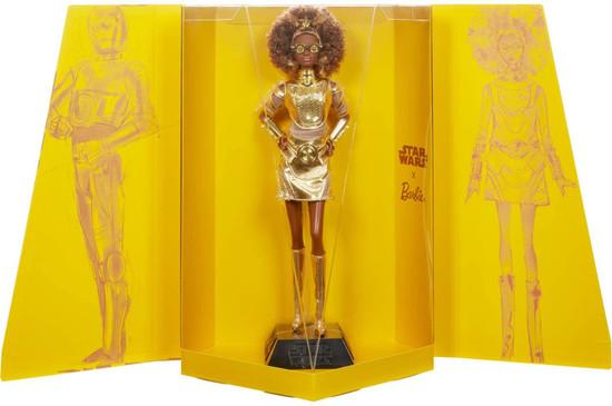 Star Wars x Barbie Gold Label C-3P0 x Barbie Doll