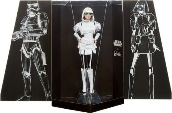 Star Wars x Barbie Gold Label Stormtrooper x Barbie Doll