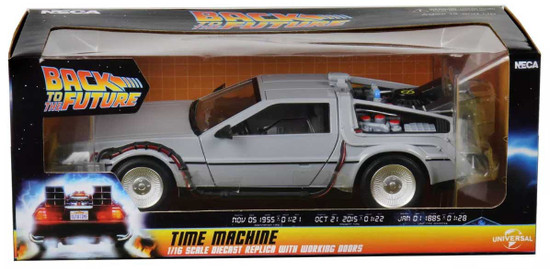 NECA Back to the Future Time Machine 6-Inch Diecast Vehicle