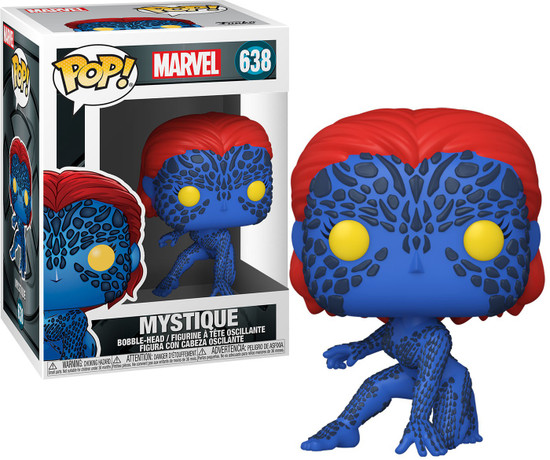 Funko X-Men 20th POP! Marvel Mystique Vinyl Figure