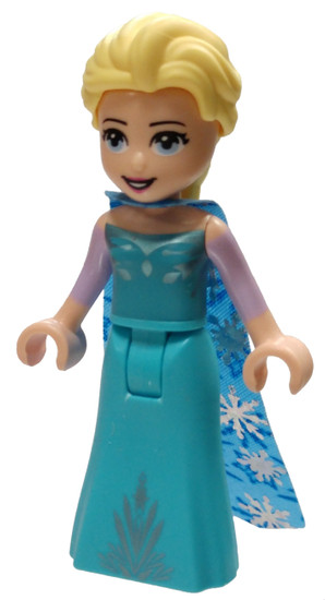LEGO Disney Princess Frozen 2 Elsa Minifigure [Blue Narrow Cape with Snowflakes Loose]