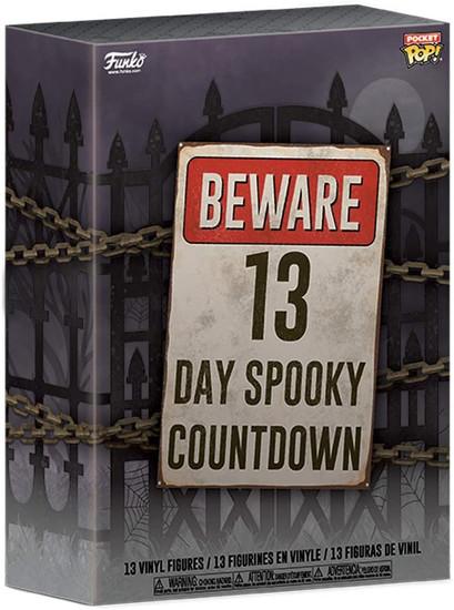 Funko 13-Day Spooky Countdown Advent Calendar