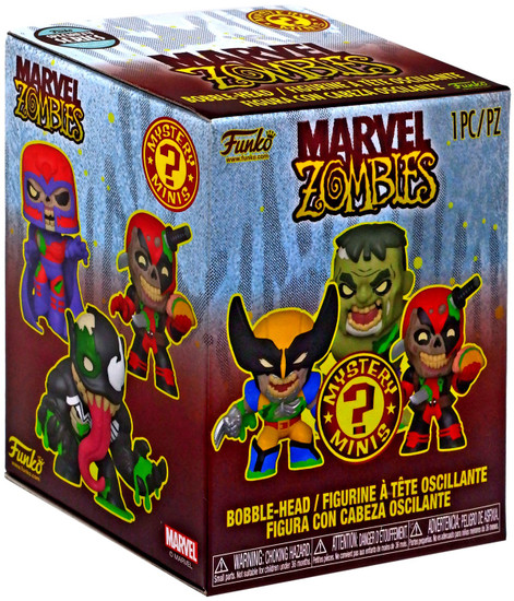 Funko Mystery Minis Marvel Zombies Exclusive Mystery Pack [1 RANDOM Figure, Specialty Series]