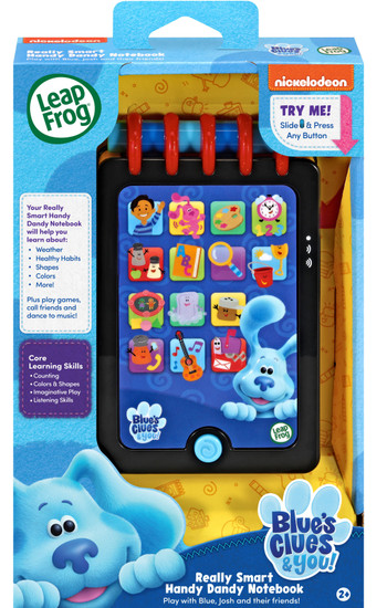 Leapfrog Blue's Clues & You! Really Smart Handy Dandy Notebook Playset