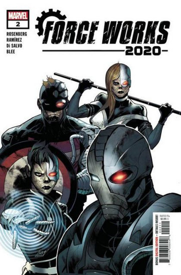 Marvel 2020 Force Works #2A Comic Book