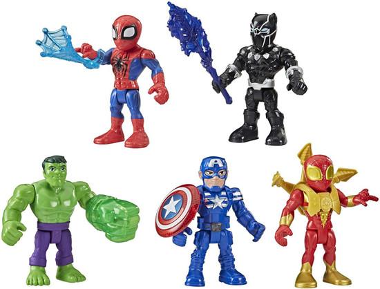 Marvel Playskool Heroes Super Hero Adventures Super Hero Squad Action Figure Set (Pre-Order ships January)