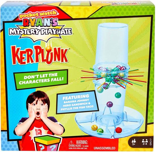 Pocket Watch Ryan's World Mystery Playdate KerPlunk Game