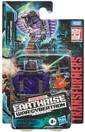 Transformers Generations Earthrise: War for Cybertron Trilogy Slitherfang Battle Master Action Figure