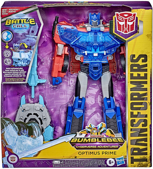 Transformers Bumblebee Cyberverse Adventures Battle Call Optimus Exclusive Officer Action Figure