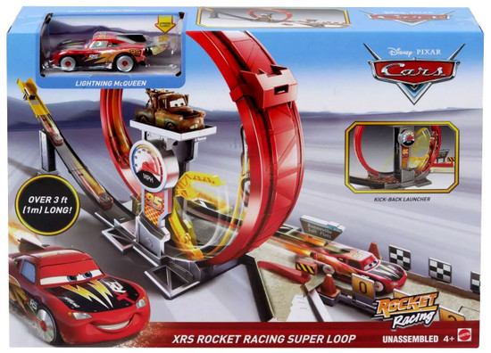 Disney / Pixar Cars Cars 3 XRS Rocket Racing Super Loop Playset