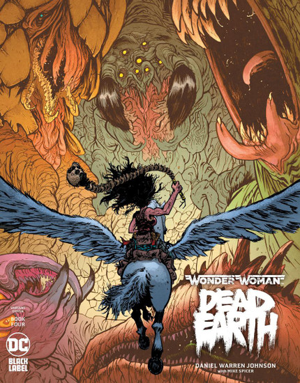 DC Black Label Wonder Woman Dead Earth #4 of 4 Comic Book [Daniel W Johnson Variant]