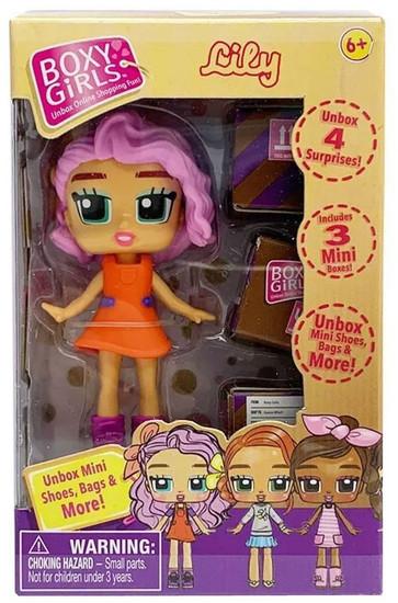 Boxy Girls Lily Mini Doll