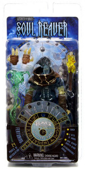 Legacy of Kain Soul Reaver Player Select Series 1 Raziel Action Figure [Spectral Plane]