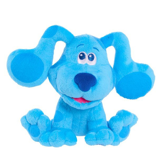 Blue's Clues & You! Blue 6-Inch Bean Bag Plush