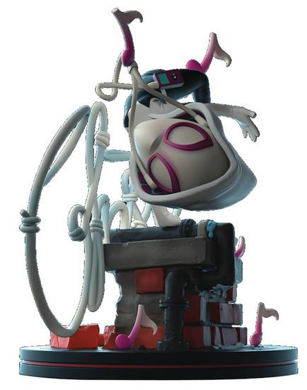 Marvel Spider-Man Q-Fig Elite Ghost Spider 4-Inch Diorama Figure [Gwen Stacy] (Pre-Order ships June)