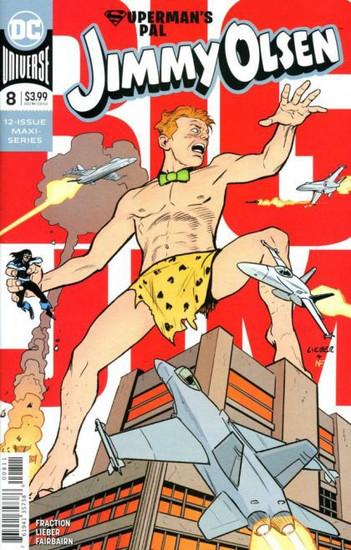 DC Comics Jimmy Olsen, Vol. 2 #8A Comic Book