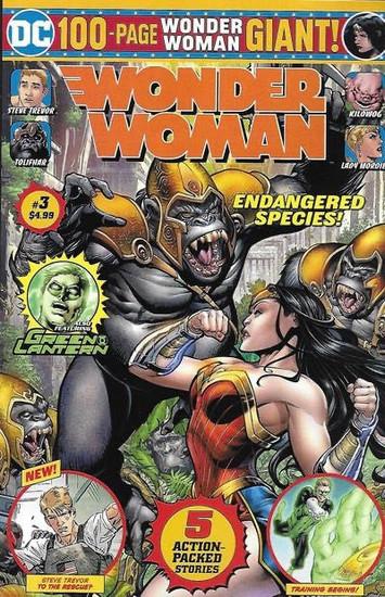 DC Comics Wonder Woman 100-Page Giant, Vol. 2 #3B Comic Book