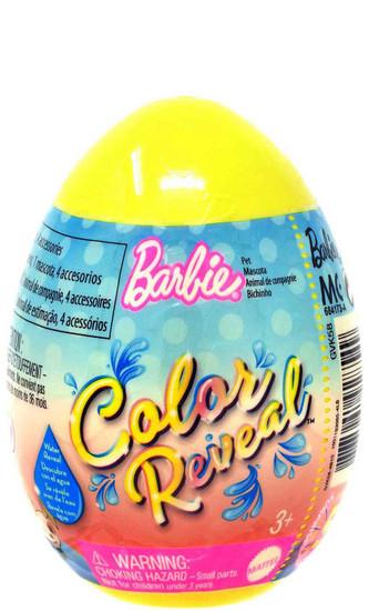 Barbie Color Reveal Easter Egg Pet Surprise [RANDOM Color!]
