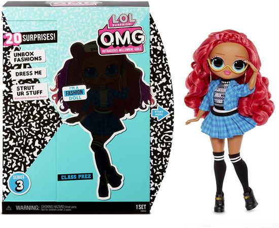 LOL Surprise OMG Series 3 Class Prez Fashion Doll