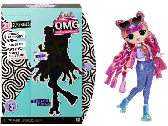 LOL Surprise OMG Series 3 Roller Chick Fashion Doll