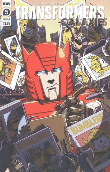 IDW Publishing Transformers: Galaxies #5A Comic Book