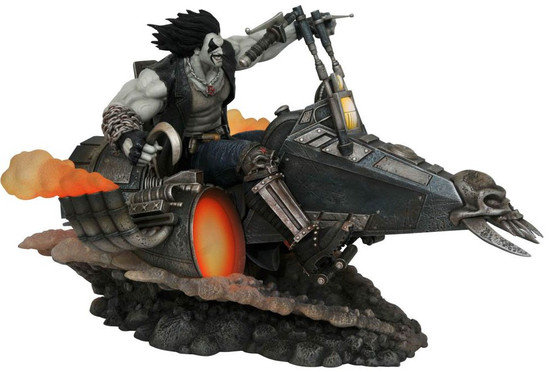 DC Gallery Lobo 10-Inch Deluxe Collectible PVC Statue (Pre-Order ships January)