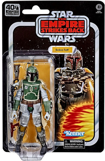 Star Wars The Empire Strikes Back 40th Anniversary Wave 3 Boba Fett Action Figure