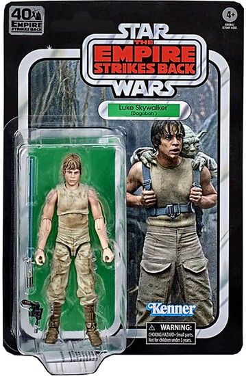 Star Wars The Empire Strikes Back 40th Anniversary Wave 3 Luke Skywalker Action Figure (Pre-Order ships January)