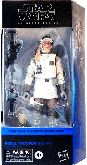 Star Wars The Empire Strikes Back Black Series Wave 27 Rebel Trooper Action Figure [Hoth]