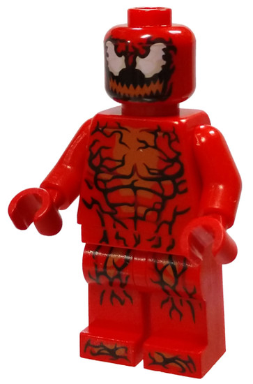 LEGO Marvel Super Heroes Spider-Man Carnage Minifigure [Without Appendages Loose]
