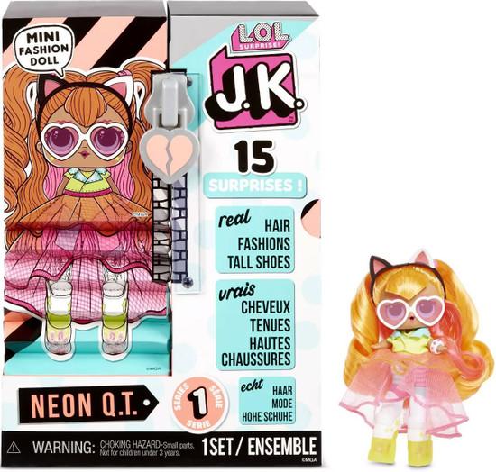 LOL Surprise JK Neon QT Mini Fashion Doll