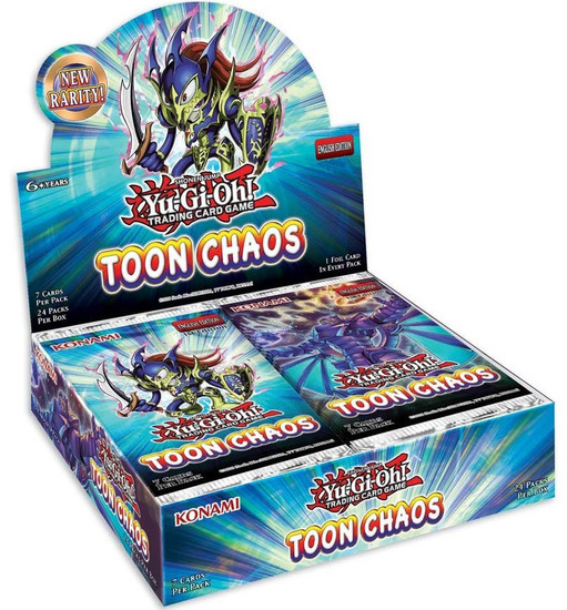 YuGiOh Trading Card Game Toon Chaos (Unlimited) Booster Box [24 Packs]