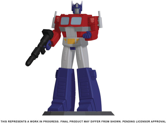 """Transformers Optimus Prime 9-Inch 9"""" Collectible PVC Statue (Pre-Order ships January)"""