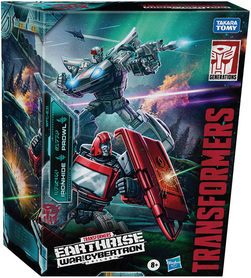 Transformers Generations Earthrise: War for Cybertron Trilogy Ironhide & Prowl Exclusive Deluxe Action Figure 2-Pack WFC-E31 [Autobot Alliance]
