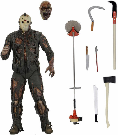 NECA Friday the 13th Part VII The New Blood Jason Voorhees Action Figure [Ultimate Version] (Pre-Order ships July)