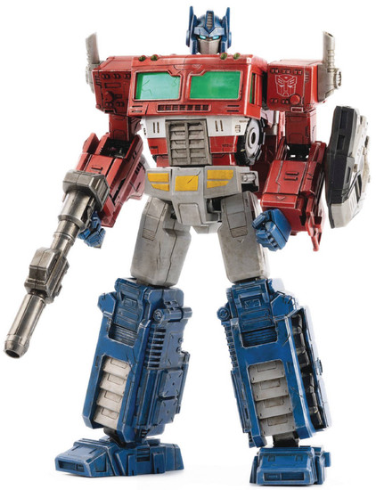 "Transformers Optimus Prime 10-Inch 10"" Deluxe Scale Figure (Pre-Order ships April)"