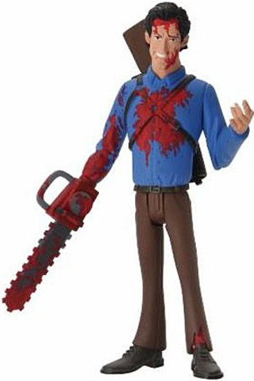 NECA Horror Evil Dead Toony Terrors Series 5 Bloody Ash Action Figure (Pre-Order ships January)