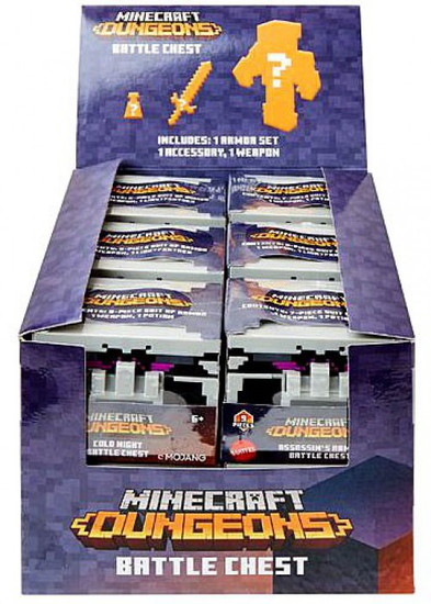 Minecraft Dungeons Battle Chest Mystery Box [12 Packs]