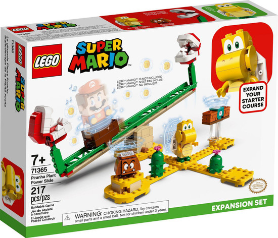 LEGO Super Mario Piranha Plant Power Slide Expansion Set #71365