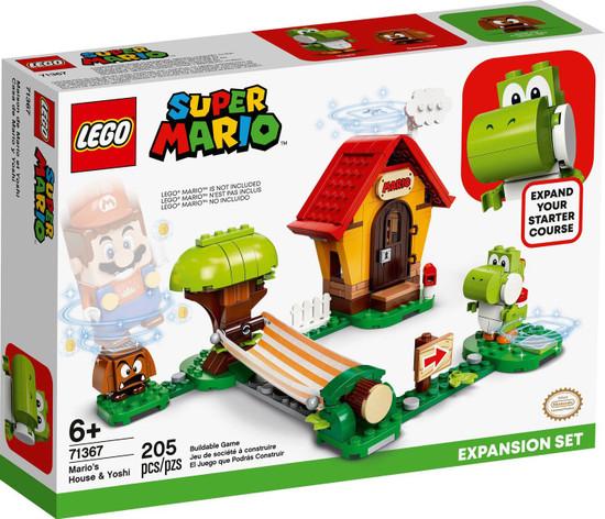 LEGO Super Mario Mario's House & Yoshi Expansion Set #71367