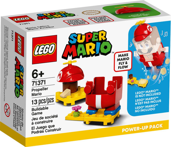 LEGO Super Mario Propeller Mario Power-Up Pack Set #71371