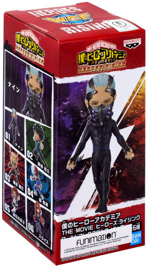My Hero Academia The Movie Heroes: Rising WCF World Collectible Figure NINE 2.8-Inch PVC #01