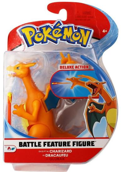 Pokemon Battle Feature Charizard Action Figure